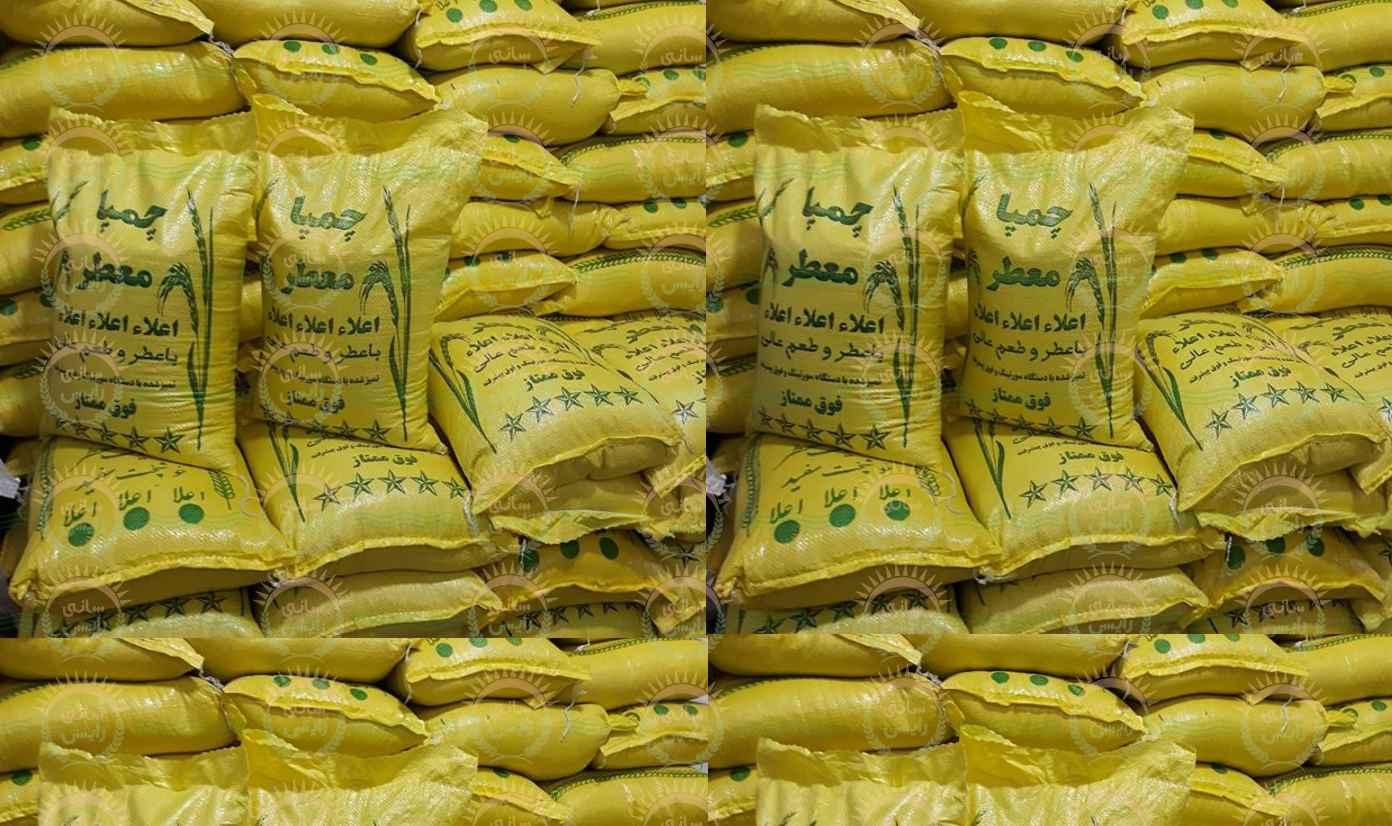 قیمت خرید فروش صادرات عمده برنج چمپا اهواز