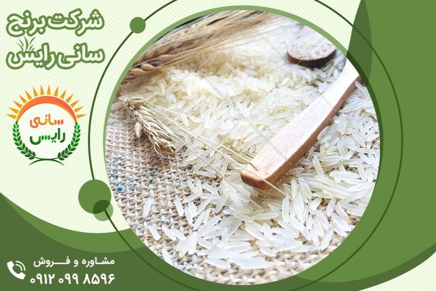 فروش برنج هندی تناژ بالا به صورت عمده