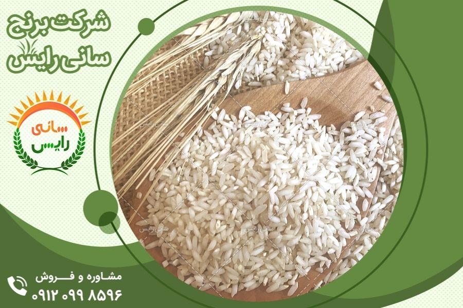 مرکز فروش عمده برنج عنبربو از کارخانه