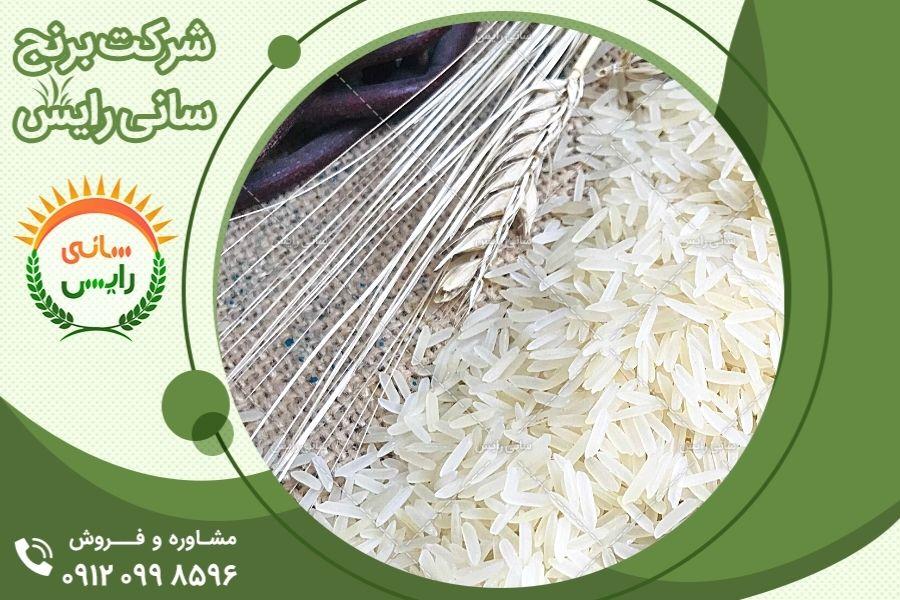 نمایندگی های برنج هندی در نقاط مختلف ایران