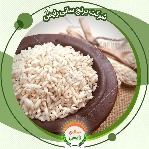 فروش برنج عنبربو منحصر به صورت عمده